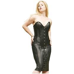 Erogance - Vestido - para mujer negro X-Large
