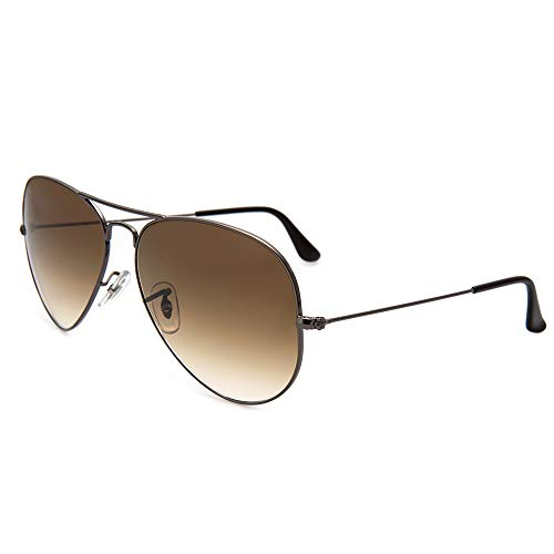 Ray-Ban Men's Large Metal Aviator Sunglasses.