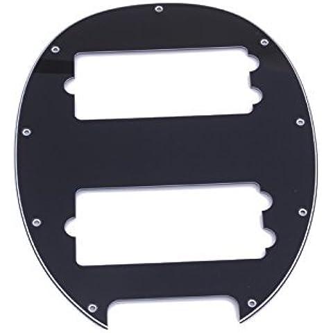 DN Negro 3Ply baja de cadena 5 Humbucker scratchplate