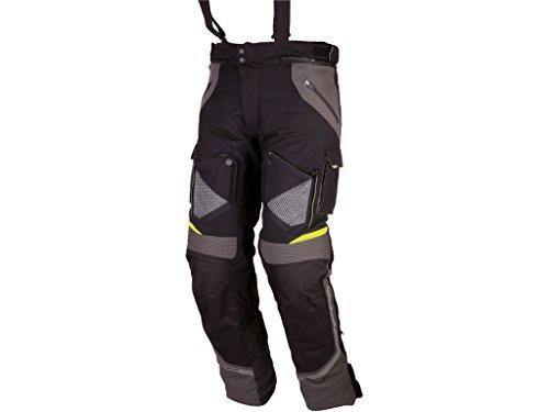 Preisvergleich Produktbild Modeka Textilhose Motorradhose PANAMERICANA schwarz-gelb (K2XL)
