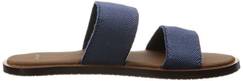 Sanuk Women's Yoga Gora Sandal Slate Blue