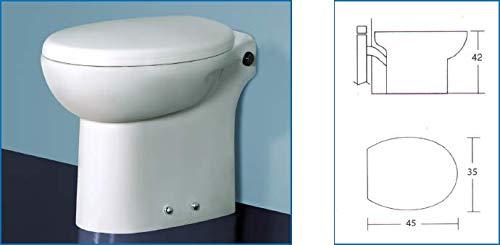 Inodoro triturador integrado Flux 45