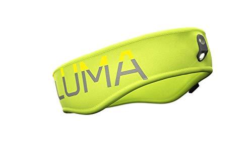 LUMA Active - LED Licht Stirnband mit integrierter Stirnlampe - Grün S/M