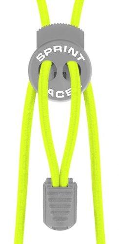 Sprint Laces - elastische Schuhbänder für Running, Triathlon, Trekking, Fitness, Freizeit, etc. Farbe