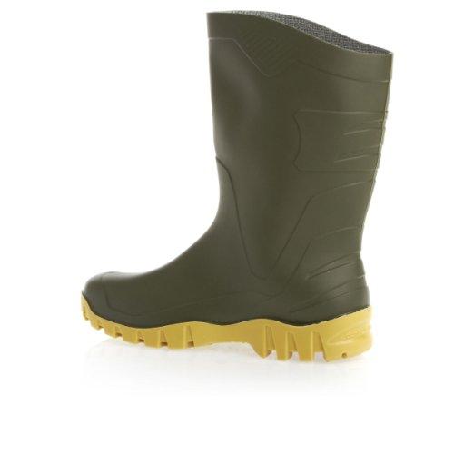 Stivali professionali Dunlop Dee comodi ed eleganti, senza puntale in acciaio - K580011 Green/Black Sole