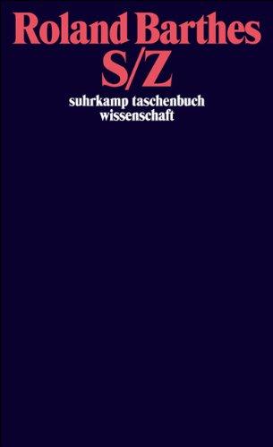 S/Z (suhrkamp taschenbuch wissenschaft)