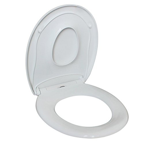 Sani-Dream Deluxe Family WC Sitz Toilettendeckel Softclose Abnehmbar Kinder Baby