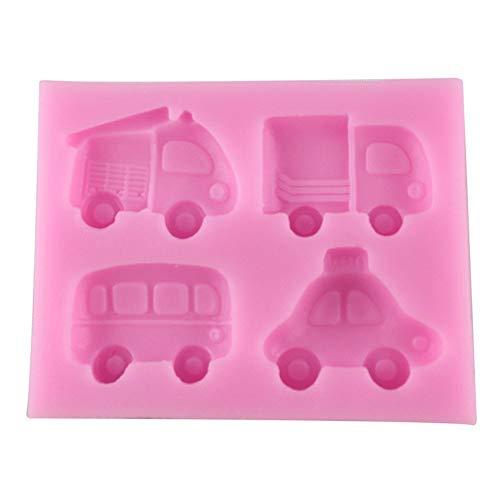huttle Bus LKW Silikon Form Madeleine Schokolade Pudding Fondant Kuchenform DIY ()