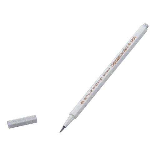 Satz von 10 Farben Metallischen Maker Pen für Fotoalbum Gästebuch Kartenherstellung, Metallic Marker Stifte, auf Oberfläche-Papier Glas Kunststoff Töpferei Stein Färbung Bücher (Weiß)