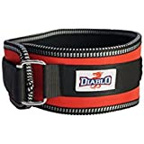Belco Diablo Excellent Back Support Gym Lumber Belt (Size-S,M,L,Xl) (M, Red)
