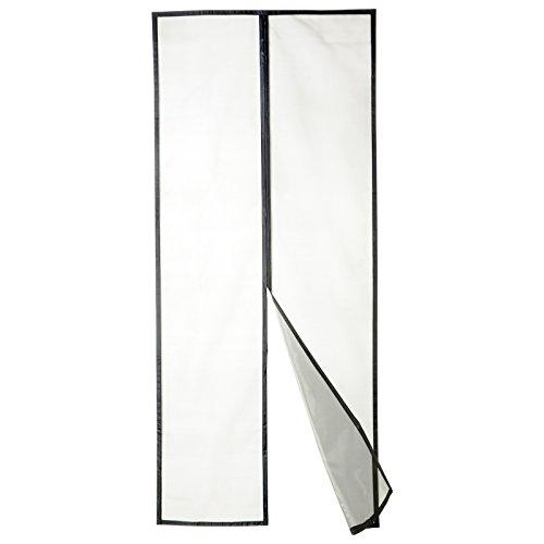 Apalus Fiberglas Magnet Fliegengitter Tür Insektenschutz 90x210 cm, 10 x Stärker als Normales Polyester, Kinderleichte Klebemontage Ohne Bohren (Nicht Kürzbar) (Lebenslange Rückgaberecht)