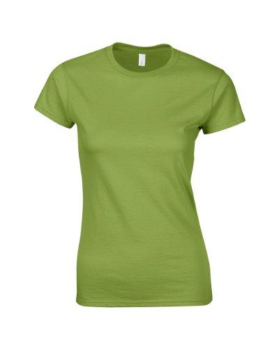 GILDANDamen T-Shirt Vert - Kiwi