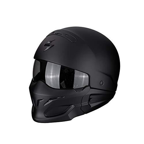 Scorpion Casco Moto EXO-COMBAT, Matt Black, M