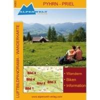 Luftbildpanorama - Wanderkarte - Phyrn - Priel
