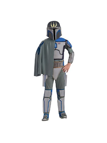 Star Wars Pre Vizsla Deluxe Kostüm für Kinder, (Deluxe Pre Vizsla Kostüm)