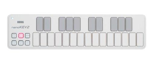 Korg Nanokey 2, Tastiera USB, Bianco, 25 Note