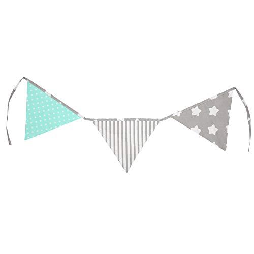 TupTam Guirnalda de Triángulos para la Habitación Infantil, Color: Mix de Colores...