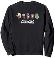 Marvel Avengers Game Cute Super Heroes Sudadera