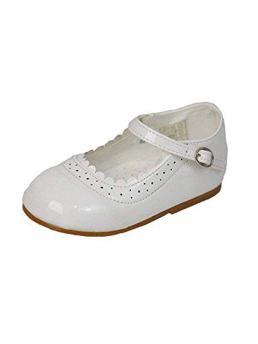 Mädchen Mary Jane Schuhe für Feierliche Anlässe Elfenbein UK Child 5 - EU 22 -