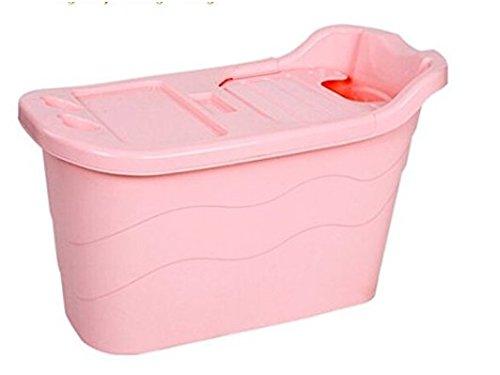 Vasca Da Bagno Rosa : Grande adulto di plastica bagno benna pieghevole vasca da bagno