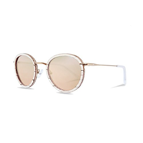 KERBHOLZ Unisex Sonnenbrille Berthold White Birch SUNWBER0044 One Size ML Rose Gold