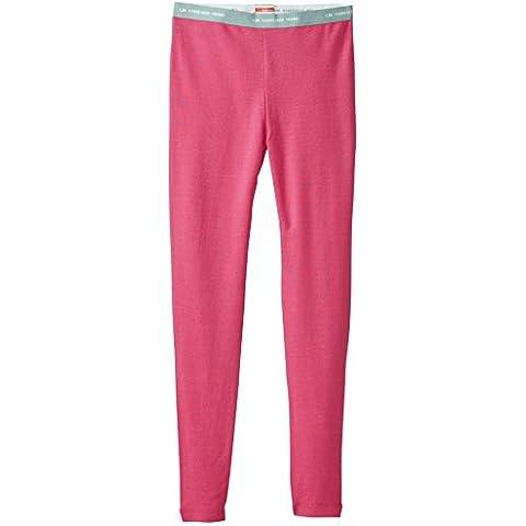 Icebreaker Unterhose Legging Kids Compass - Pantalones interiores, color rosa, talla DE: 14
