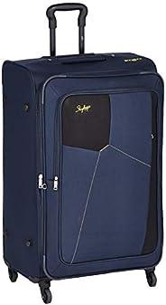 Skybags Rubik Polyester 78 Cms Softsided Check-in Luggage (BLUE) (STRUB78EBLU)