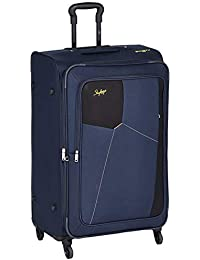 Skybags Rubik Polyester 78 cms Blue Softsided Check-in Luggage (STRUB78EBLU)