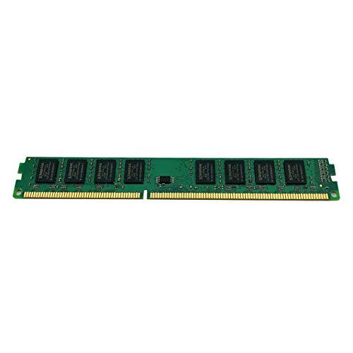 camellia Memoria DDR3 para Escritorio Memoria 1600MHz 240 Pin 2G / 4GB / 8GB PC Memoria RAM para computadora Escritorio (Verde)