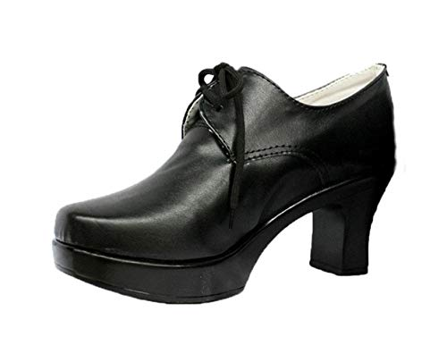 Cosstars Black Butler Kuroshitsuji Ciel Cover 6th Anime Shoes Cosplay Schuhe (Halloween Cover Butler Black)