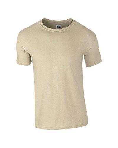 Gildan: Ring Spun T Shirt 64000. sabbia XL