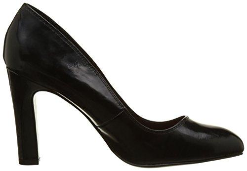 Elle - Monge, Scarpe col tacco Donna Nero (Noir (Vernis Noir))