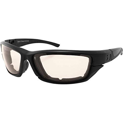 Bobster 4003371 Decoder 2 Photochromic Eyewear-Matte, schwarzer Rahmen, Multi, Einheitsgröße