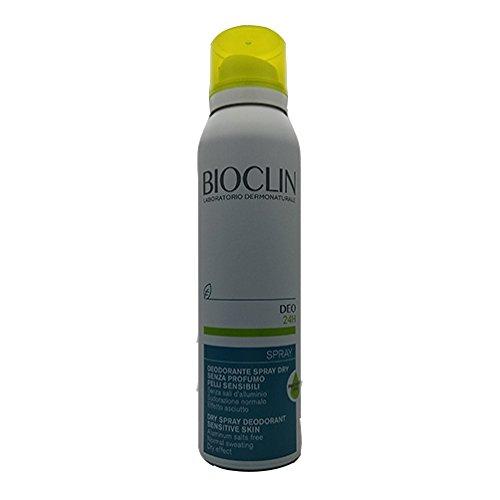 Bioclin Deo 24h Spray déodorant Dry sans parfum transpiration normale 150 ml