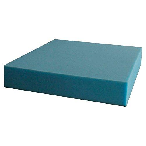 Ventadecolchones Pieza de Espuma a Medida 60 x 120 x 10 cm - Densidad 25 kg/m3 Extrafirme, para Otras Medidas consúltenos