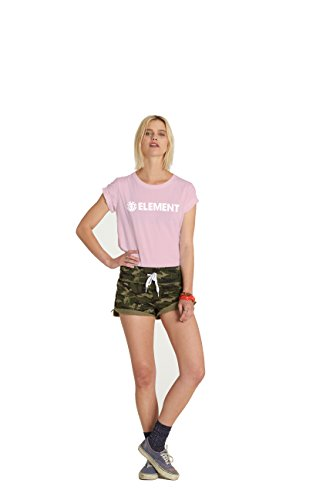 Damen T-Shirt Element Petunia Tee SS Women Rose Quartz