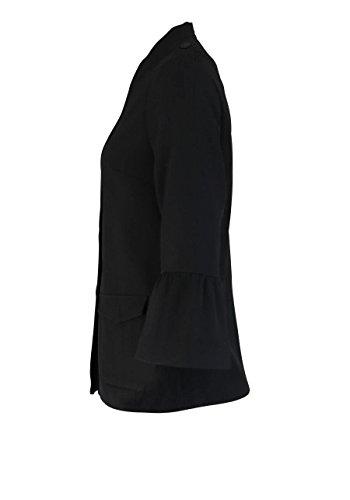 ONLY Blazer Arm Stehkragen seitliche Taschen schwarz Abbildung 3