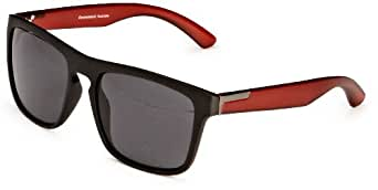 Quay Eyewear Australia 1549 Wayfarer Sunglasses Black/Red One Size