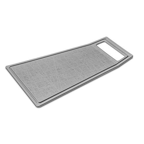 Koziol 3257632 Planche à découper Kant Gris Plastique, 40,2x25,4x1 cm