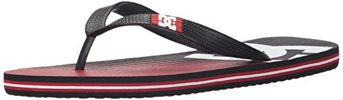 DC Shoes Spray Graffik D0303276, Infradito Uomo Red/Red/Black