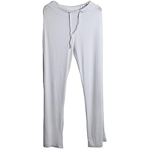 Sidiou Group Pantalones de cuerno de moda con pierna ancha por mujeres, Pantalones cómodos por Yoga, danza & deporte y esparcimiento