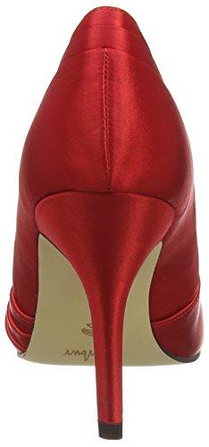 Menbur Cortecillas, Chaussures à talons - Avant du pieds couvert femme Rouge - Rouge