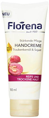 Florena Handcreme Traubenkernöl & Sojaöl, 100ml -
