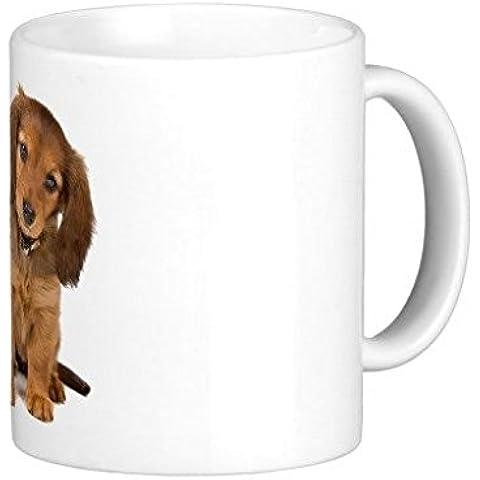 Cucciolo di bassotto divertente tazza caffè tazza 11oz