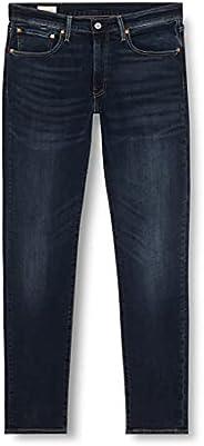 Levi's Erkek 512 Slim Taper Jean Pantolon, Dark Indigo - Worn In, 34W /