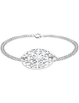 Elli Premium Damen-Armband Ornament 925 Silber