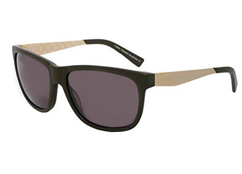 rainbow safety Damen Herren Sonnenbrille MED Limitierte Edition Edelstahlrahmen UV400 Schutz O1008-BR