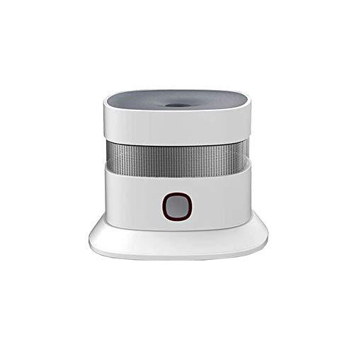 heiman SmartHome Wireless Detector de Humo (hs1sa de Z)/Z-Wave Smoke Detector/Detector de Humo/Fuego/Alarma Brand Detector de aplicación de Apoyo (Z-Wave Plus Compatible)-Color Blanco