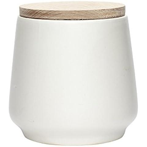 Hubsch in barattolo ermetico in ceramica con coperchio, misura media
