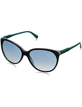 TOMMY HILFIGER Sonnenbrille Th 1315/S 56Vr2 schwarz/weiß